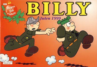 Cover for Billy julehefte (Hjemmet / Egmont, 1970 series) #1999