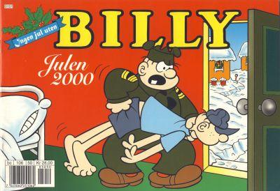 Cover for Billy julehefte (Hjemmet / Egmont, 1970 series) #2000