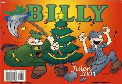 Cover for Billy julehefte (Hjemmet / Egmont, 1970 series) #2001