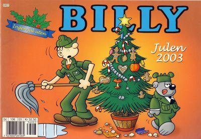 Cover for Billy julehefte (Hjemmet / Egmont, 1970 series) #2003