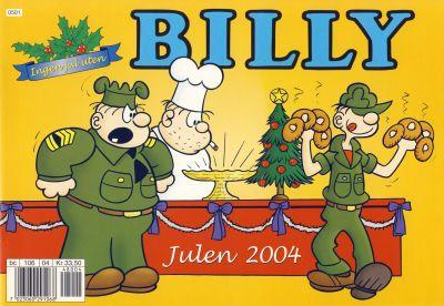 Cover for Billy julehefte (Hjemmet / Egmont, 1970 series) #2004
