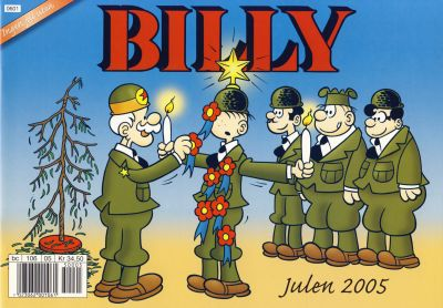 Cover for Billy julehefte (Hjemmet / Egmont, 1970 series) #2005