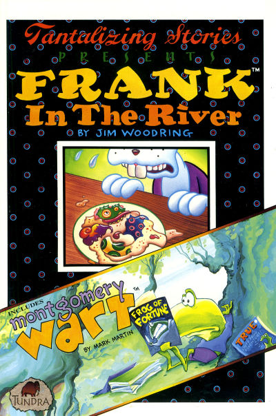 Cover for Tantalizing Stories Presents Frank in the River (Tundra, 1992 series)