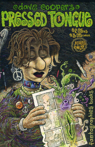 Cover for Pressed Tongue (Fantagraphics, 1994 series) #1