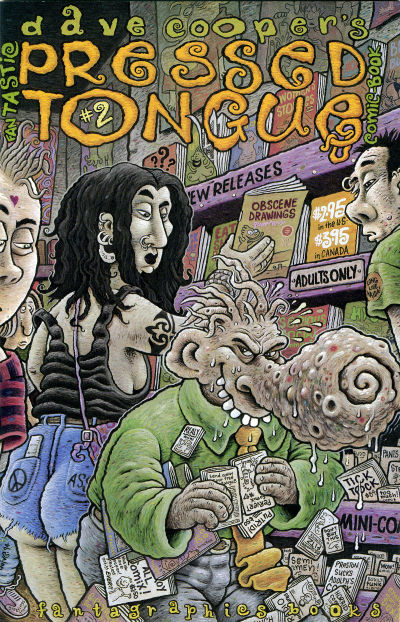 Cover for Pressed Tongue (Fantagraphics, 1994 series) #2
