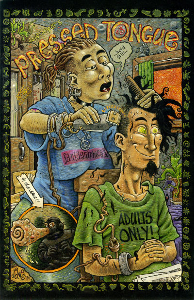 Cover for Pressed Tongue (Fantagraphics, 1994 series) #3
