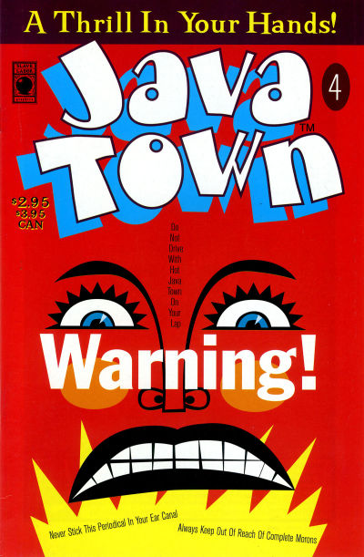 Cover for Java Town (Slave Labor, 1992 series) #4