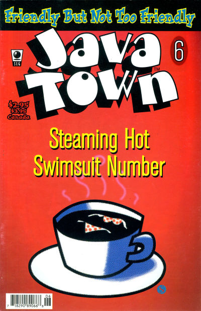 Cover for Java Town (Slave Labor, 1992 series) #6