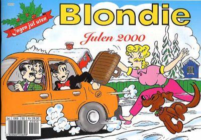 Cover for Blondie (Hjemmet / Egmont, 1941 series) #2000