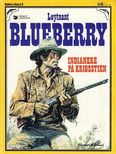 Cover for Blueberry (Hjemmet / Egmont, 1977 series) #9 - Indianere på krigsstien