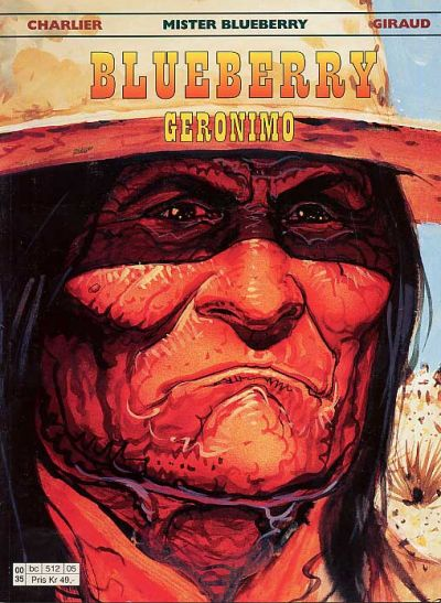 Cover for Blueberry (Hjemmet / Egmont, 1998 series) #26 - Geronimo