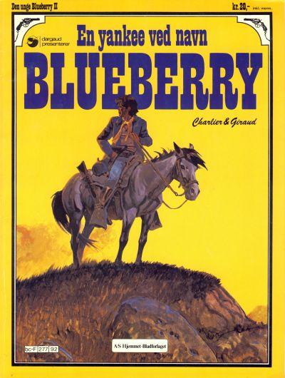 Cover for Den unge Blueberry (Hjemmet / Egmont, 1984 series) #2 - En yankee ved navn Blueberry