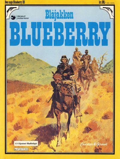 Cover for Den unge Blueberry (Hjemmet / Egmont, 1984 series) #3 - Blåjakken Blueberry
