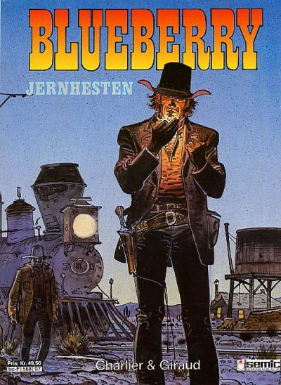 Cover for Blueberry (Semic, 1988 series) #7 - Jernhesten