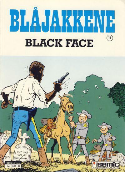 Cover for Blåjakkene (Semic, 1987 series) #11 - Black Face