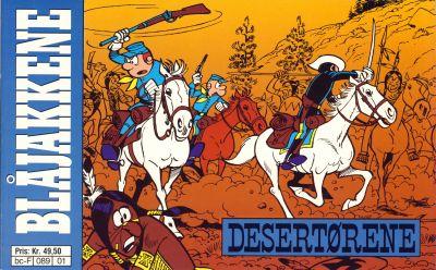 Cover for Blåjakkene (Semic, 1992 series) #1 - Desertørene