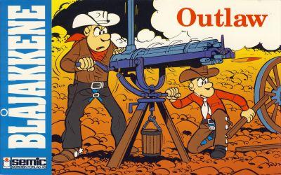 Cover for Blåjakkene (Semic, 1992 series) #2 - Outlaw