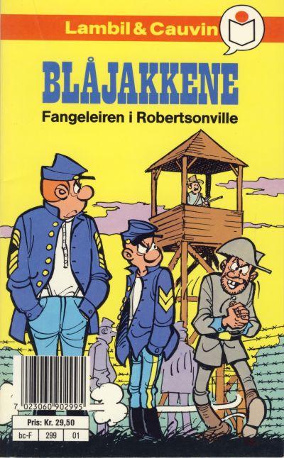 Cover for Blåjakkene [Semic Tegneseriepocket] (Semic, 1990 series) #1 - Fangeleiren i Robertsonville