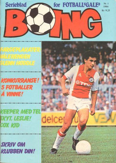 Cover for Boing (Serieforlaget / Se-Bladene / Stabenfeldt, 1984 series) #1/1984