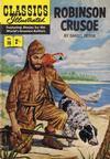 Cover for Classics Illustrated (Thorpe & Porter, 1951 series) #10 - Robinson Crusoe