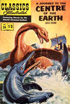 Cover for Classics Illustrated (Thorpe & Porter, 1951 series) #24 - A Journey to the Center of the Earth