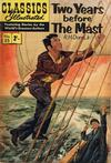 Cover for Classics Illustrated (Thorpe & Porter, 1951 series) #25 - Two Years Before the Mast