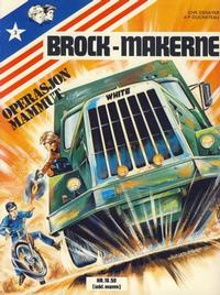 Cover for Brock-makerne (Winthers forlag, 1979 series) #3 - Operasjon Mammut
