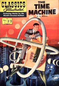 Cover Thumbnail for Classics Illustrated (Thorpe & Porter, 1951 series) #11 - The Time Machine