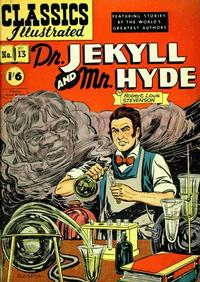 Cover Thumbnail for Classics Illustrated (Thorpe & Porter, 1951 series) #13 - Dr. Jekyll and Mr. Hyde