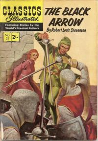 Cover Thumbnail for Classics Illustrated (Thorpe & Porter, 1951 series) #31 - The Black Arrow