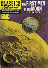 Cover Thumbnail for Classics Illustrated (Thorpe & Porter, 1951 series) #52 - The First Men in the Moon