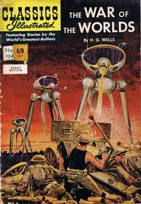 Cover Thumbnail for Classics Illustrated (Thorpe & Porter, 1951 series) #124 - The War of the Worlds
