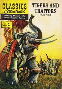 Cover Thumbnail for Classics Illustrated (Thorpe & Porter, 1951 series) #145 - Tigers and Traitors