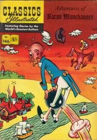 Cover Thumbnail for Classics Illustrated (Thorpe & Porter, 1951 series) #146 - Adventures of Baron Munchausen