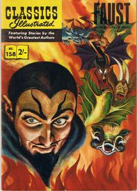 Cover Thumbnail for Classics Illustrated (Thorpe & Porter, 1951 series) #158 - Faust