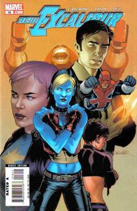 Cover Thumbnail for New Excalibur (Marvel, 2006 series) #16 [Direct Edition]