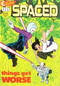 Cover Thumbnail for Spaced (Eclipse, 1986 series) #10