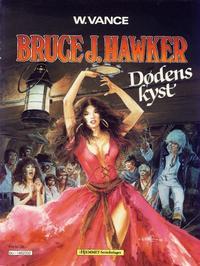 Cover Thumbnail for Bruce J. Hawker (Hjemmet / Egmont, 1985 series) #2 - Dødens kyst; De fordømtes fest