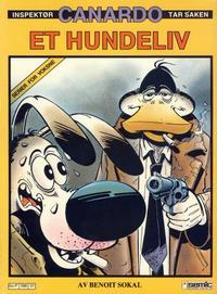 Cover Thumbnail for Canardo (Semic, 1987 series) #[1] - Et hundeliv