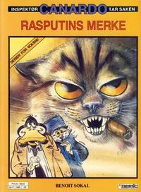 Cover Thumbnail for Canardo (Semic, 1987 series) #[2] - Rasputins merke