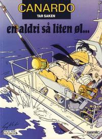 Cover Thumbnail for Canardo (Semic, 1987 series) #[7] - En aldri så liten øl ...