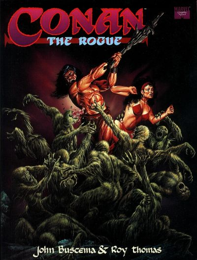 Cover for Conan the Rogue (Marvel, 1991 series)