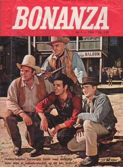 Cover for Bonanza (Serieforlaget / Se-Bladene / Stabenfeldt, 1964 series) #1/1964