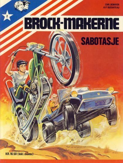 Cover for Brock-makerne (Winthers forlag, 1979 series) #2 - Sabotasje