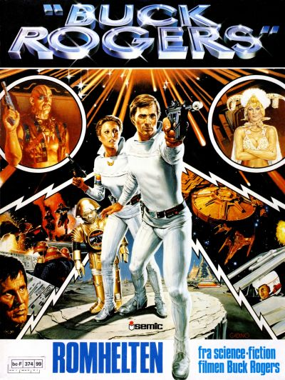 Cover for Buck Rogers album (Semic, 1980 series)