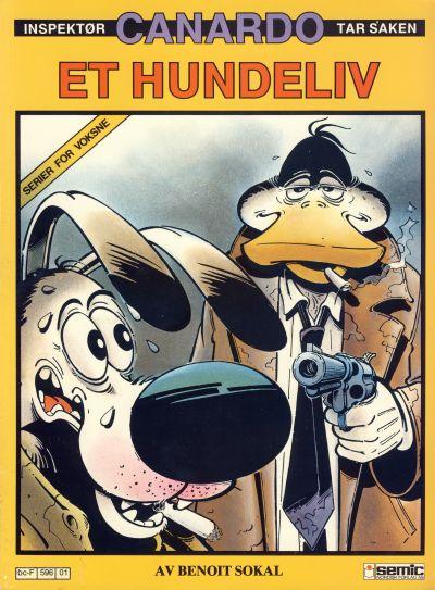 Cover for Canardo (Semic, 1987 series) #[1] - Et hundeliv