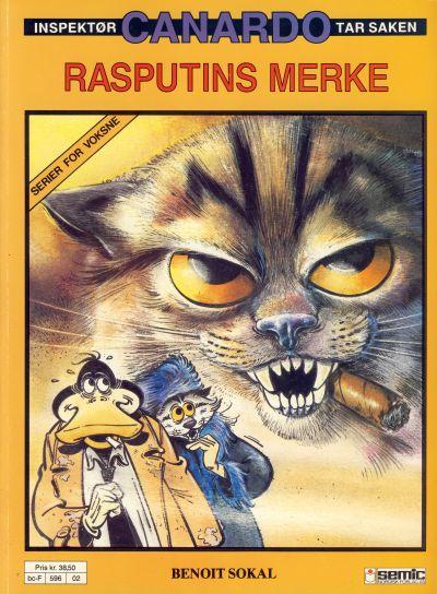 Cover for Canardo (Semic, 1987 series) #[2] - Rasputins merke