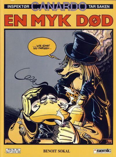 Cover for Canardo (Semic, 1987 series) #[3] - En myk død