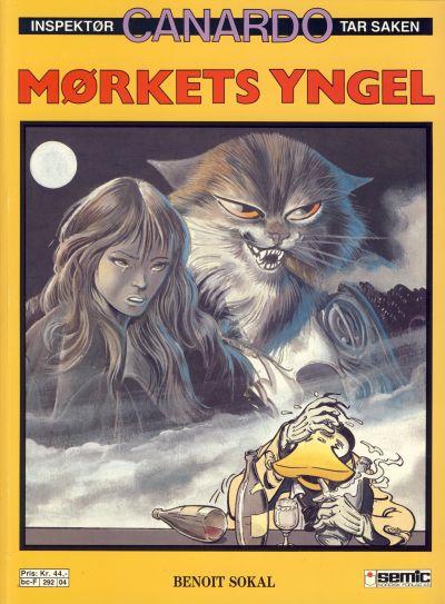 Cover for Canardo (Semic, 1987 series) #[4] - Mørkets yngel