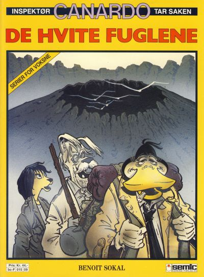 Cover for Canardo (Semic, 1987 series) #[5] - De hvite fuglene